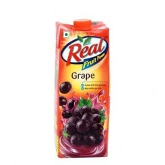 REAL FRUIT JUICE (GRAPE) - 1 LTR CARTON