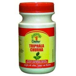 DABUR TRIPHALA (TRIFALA) CHURNA POWDER - 120 GM