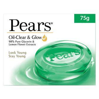 PEARS OIL CLEAR AND GLOW SOAP - 75GM