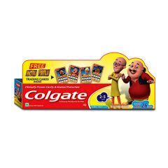 COLGATE KID BUBBLE FRUIT TOOTHPASTE FREE MOTU PATLU - 40GM
