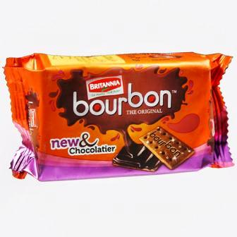 BRITANNIA BOURBON BISCUITS - 60 GM