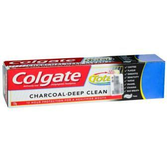 COLGATE TOTAL CHARCOAL DEEP CLEAN TOOTHPASTE - 120 GM