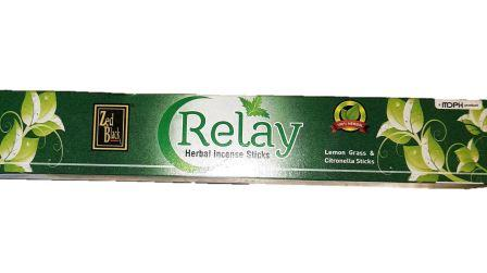 ZED BLACK RELAY MOSQUITO REPELLENT INCENSE STICKS - AGARBATTI - DHUPKATHI - 1 PC