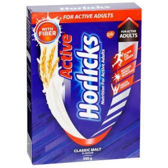 HORLICKS ACTIVE CLASSIC MALT REFILL - 500 GM