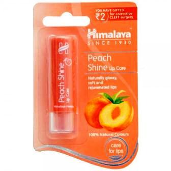 HIMALAYA PEACH SHINE LIP CARE - 4.5 GM