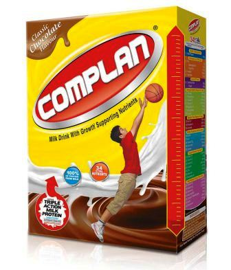 COMPLAN CHOCOLATE FLAVOR HEALTH DRINK - REFILL PACK - 500 GM