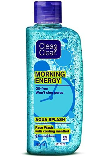 CLEAN & CLEAR AQUASPLASH FACE WASH - 100 ML
