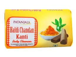 PATANJALI HALDI CHANDAN KANTI SOAP - 150 GM