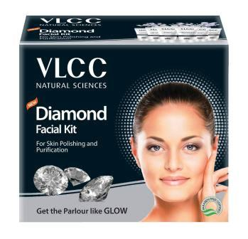 VLCC DIAMOND FACIAL KIT - 6 X 10 GMS
