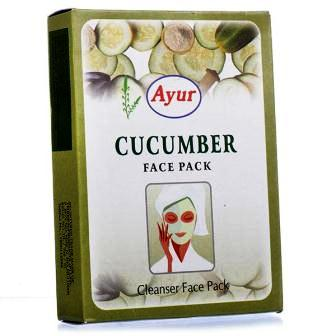 AYUR CUCUMBER FACE PACK - 100 GM