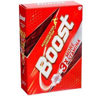 BOOST 3X MORE STAMINA HEALTH DRINK (REFILL) - 500 GM