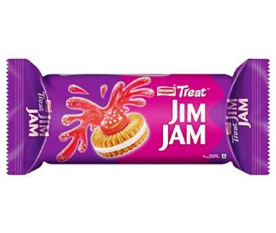 BRITANNIA TREAT JIM JAM BISCUITS - 62 GM