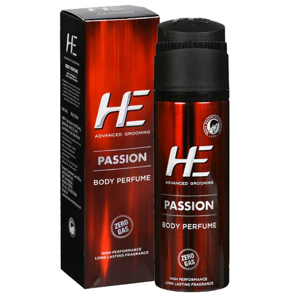 HE ADVANCED GROOMING PASSION BODY PERFUME - 120 ML