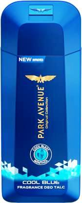 PARK AVENUE COOL BLUE DEO TALC - 100 GM SPECIAL PRICE