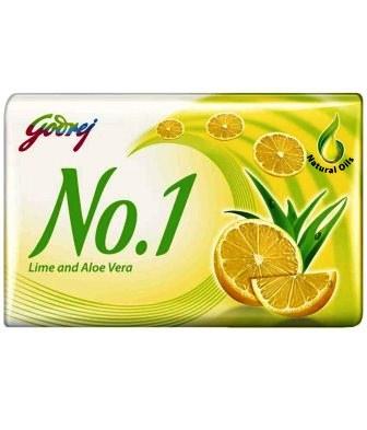 GODREJ NO 1 LIME AND ALOE VERA SOAP - 100 GM SPECIAL PRICE