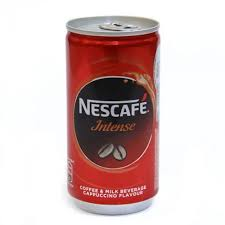 NESCAFE INTENSE CAFE (CAN)  - 180 ML