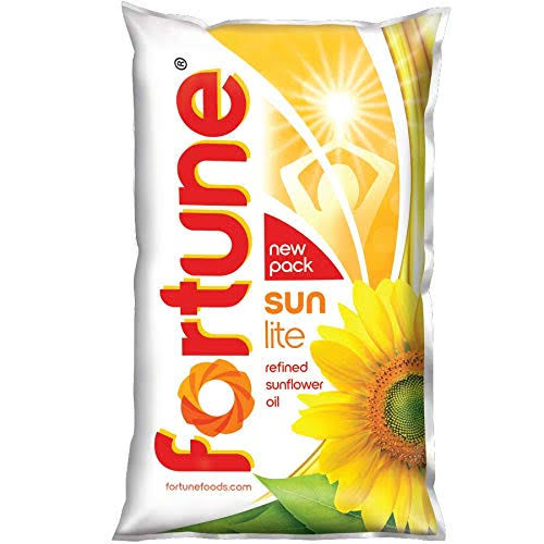 FORTUNE SUNLITE REFINED SUNFLOWER OIL - 1 LTR