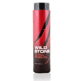 WILD STONE ULTRA SENSUAL TALC POWDER (RED) - 100 GM