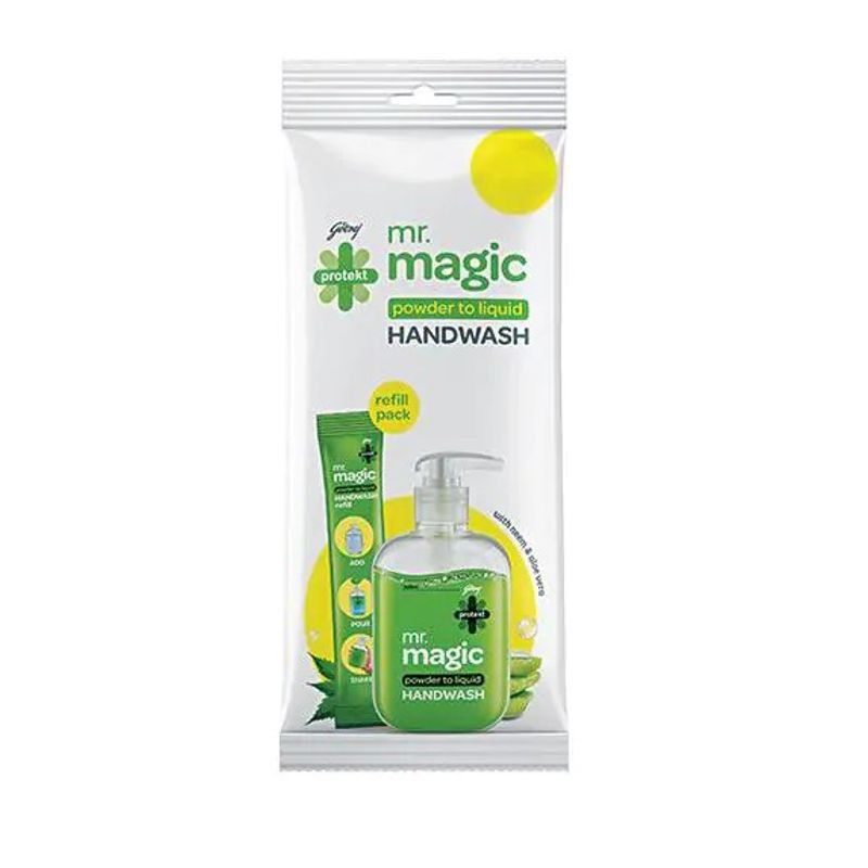 GODREJ PROTEKT MR MAGIC HAND WASH REFILL PACK - 1 PC