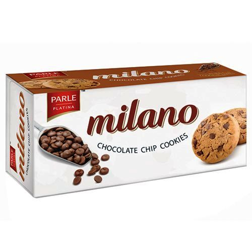 PARLE MILANO CHOCOLATE CHIP COOKIES - 75 GM