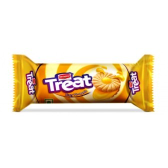 BRITANNIA TREAT PINEAPPLE BISCUITS - 100 GM