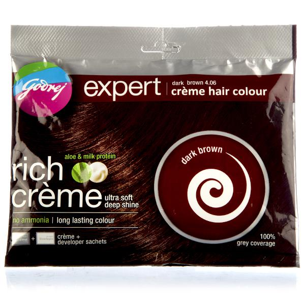 GODREJ EXPERT CREME HAIR COLOUR POUCH ( DARK BROWN)