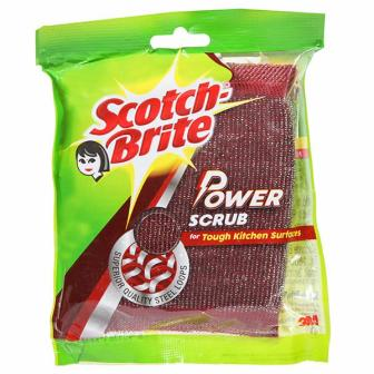 SCOTCH BRITE POWER SCRUB PAD - 1 PC