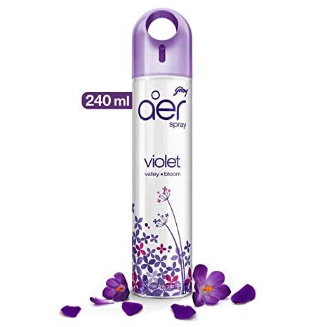 GODREJ AER ROOM FRESHENER VIOLET VALLEY BLOOM - 240 ML
