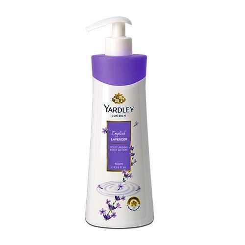 YARDLEY LONDON ENGLISH LAVENDER MOISTOURISING BODY LOTION - 350 ML