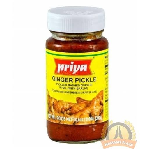 PRIYA GINGER PICKLE - 300 GM
