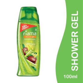 FIAMA SHOWER GEL - LEMONGRASS & JOJOBA - 100 ML