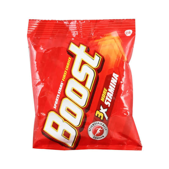 BOOST 3X MORE STAMINA HEALTH DRINK (POUCH) - 500 GM