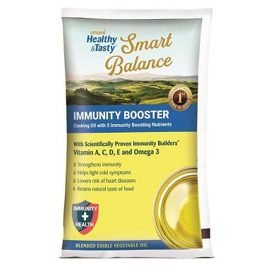 EMAMI SMART BALANCE COOKING OIL (IMMUNITY BOOSTER) - 1 LTR