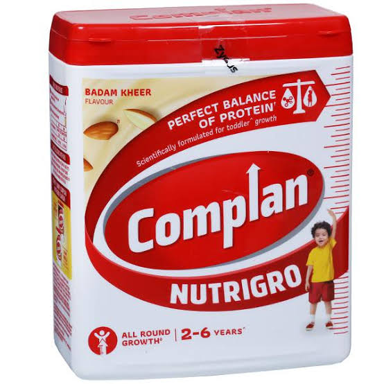 COMPLAN NUTRI GRO - BADAM KHEER FLAVOR JAR - 500 GM