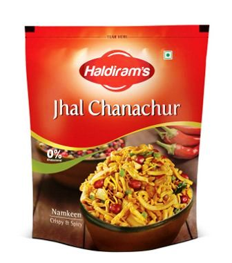 HALDIRAMS JHAAL CHANACHUR MIXTURE - 400 GM