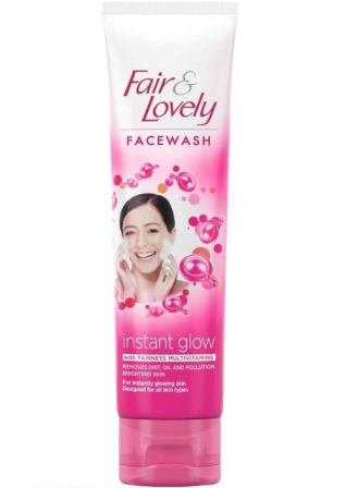 FAIR & LOVELY INSTANT GLOW FACE WASH - 50 GM