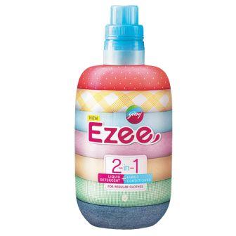 EZEE 2 IN 1 LIQUID DETERGENT PLUS FABRIC CONDITIONER - 500 GM