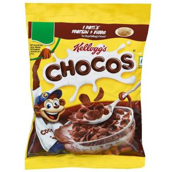 KELLOGGS CHOCOS (POUCH) - CHOCOLATY BREAKFAST -  385 GM