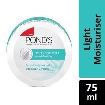 PONDS LIGHT MOISTURISER - NON OILY FRESH FEEL - 75 ML
