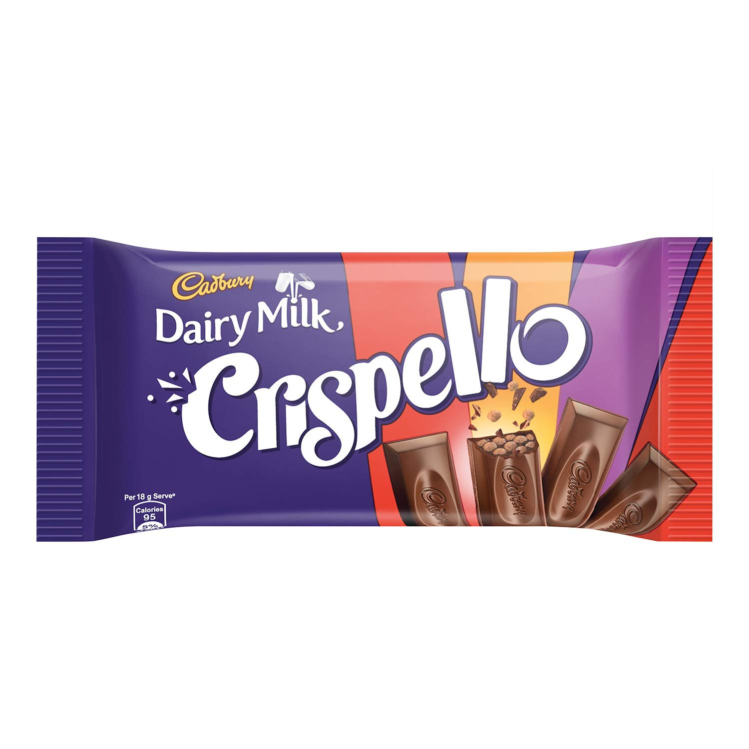 DAIRY MILK CRISPELLO CHOCOLATE - 12 GM X 2