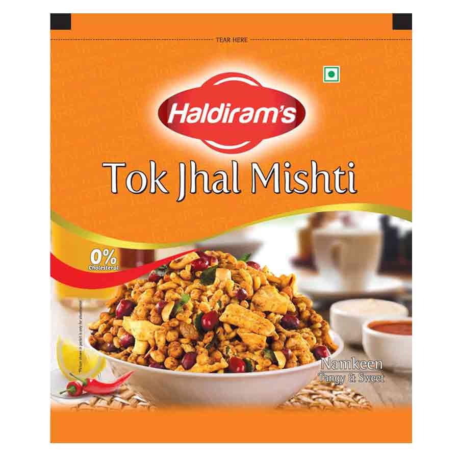 HALDIRAMS TOK JHAL MISHTI NAMKEEN CHANACHUR MIXTURE - 400 GM