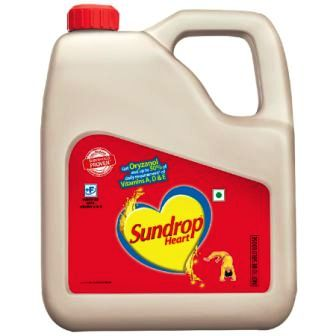 SUNDROP HEART OIL - 3 LTR