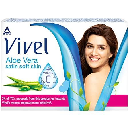 VIVEL SOAP - ALOE VERA SATIN SOFT SKIN - 100 GM SPECIAL OFFER PRICE