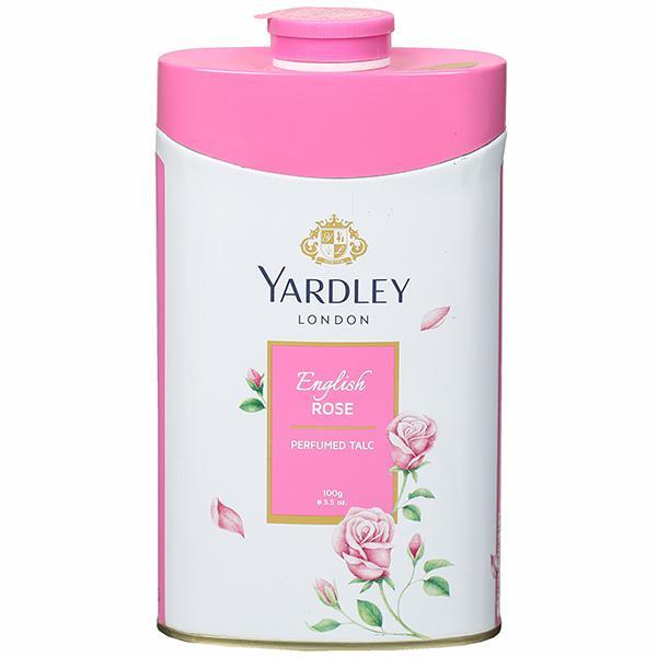 YARDLEY ENGLISH ROSE TALC - 100 GM