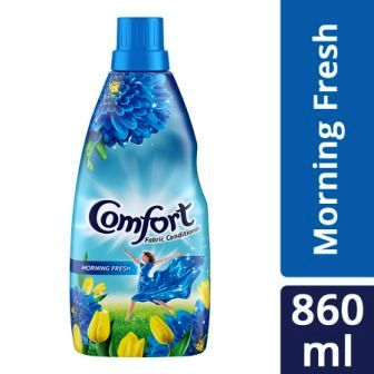 COMFORT AFTER WASH MORNING FRESH FABRIC CONDITIONER  860 ML BOTTLE