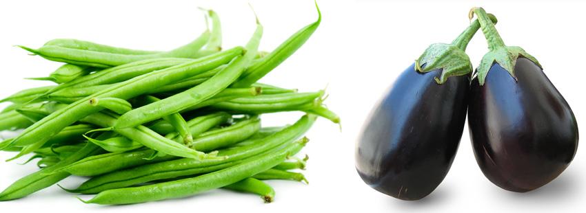 Beans & Brinjals