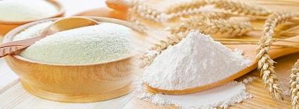 Flour, Suji, Ata etc.
