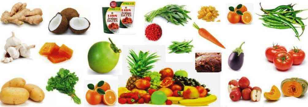 Fruits & Vegetables