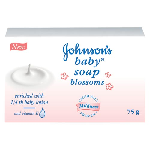 JOHNSONS BABY SOAP BLOSSOM - 75 GM
