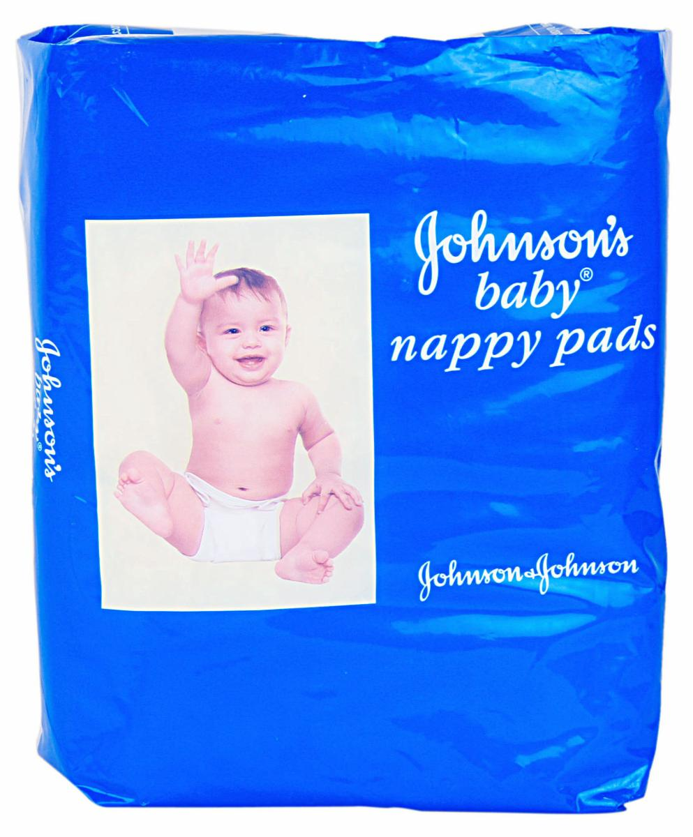 JOHNSONS BABY NAPPY PADS - 10 PCS